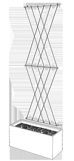 diamond trellis medium line drawings